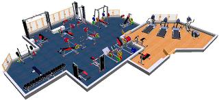 Проектирование тренажерного зала