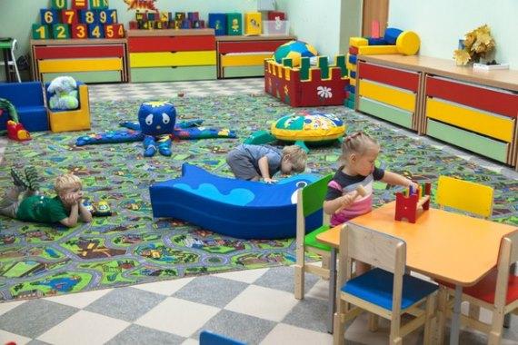 Планировка частного детского сада