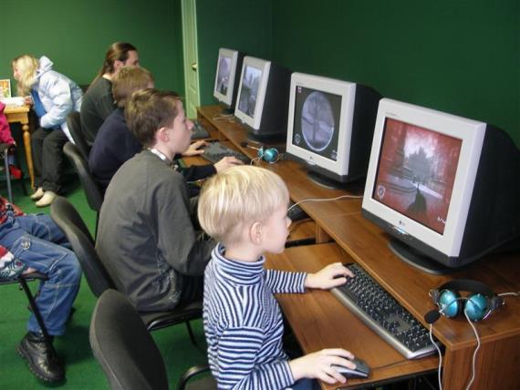 Аудитория компьютерного клуба