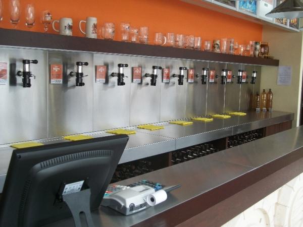 Магазин по продаже разливного пива