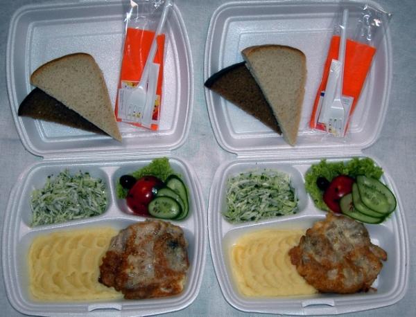 Как красиво упаковать заказы для доставки обедов в офисы