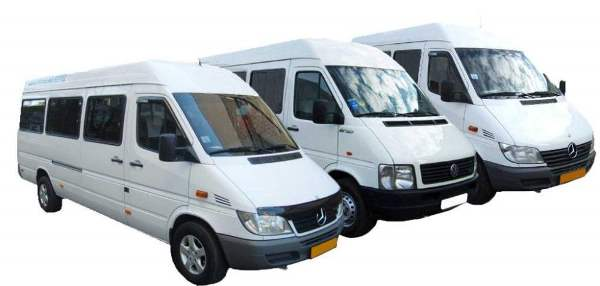 Варианты создания автопарка для пассажирских перевозок микроавтобусом