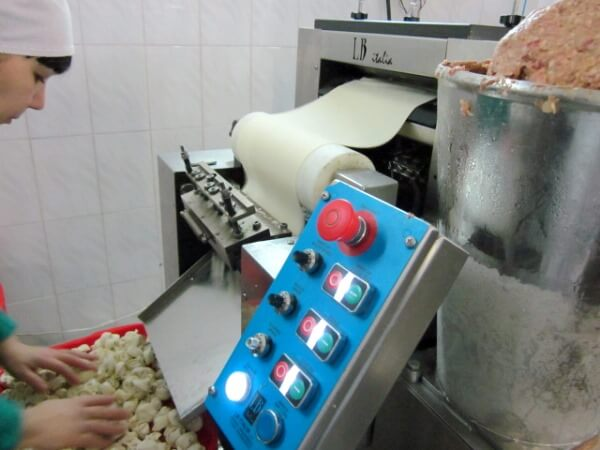 Оборудование для автоматизированного производства пельменей