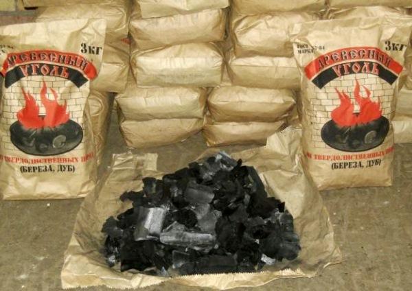 Как упаковать древесный уголь для реализации