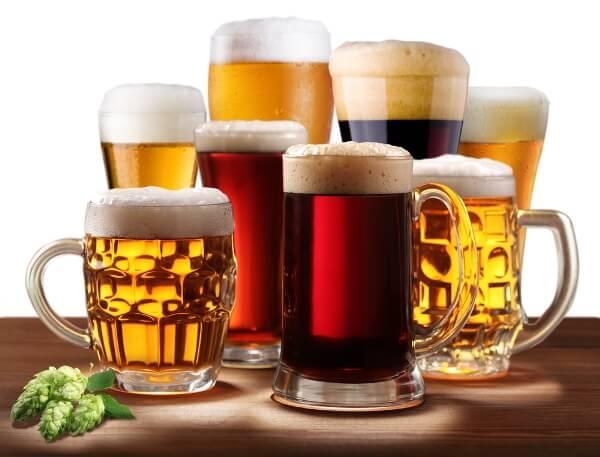 Ассортимент розливного пива для магазина